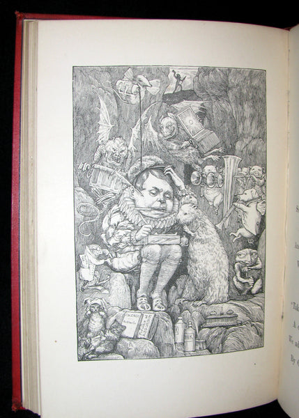 1876 Rare Victorian Book - The Hunting of the SNARK by Lewis Carroll