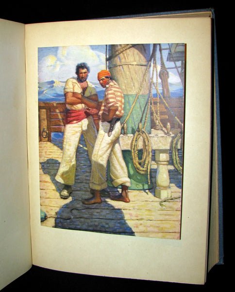 1930 Scarce Book - Moby Dick or The White Whale by Herman Melville, illustrated by Mead Schaeffer