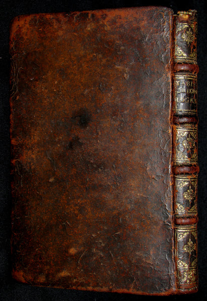 1687 Rare French Book -Chronological Tablets, with the State of the Church in the East, and  West