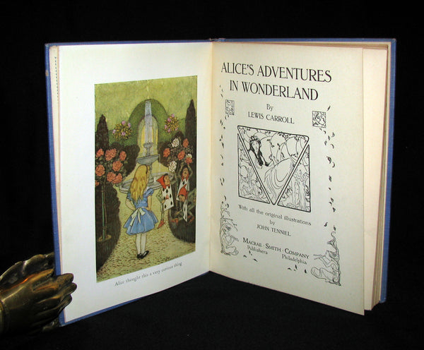 1925 Rare Edition - Alice's Adventures in Wonderland illustrated by Eleonore Abbott