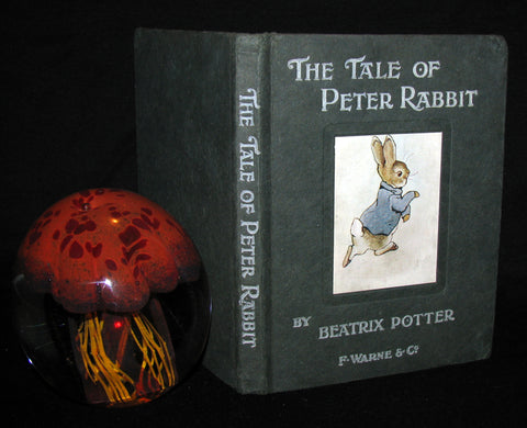 1908 Rare Book - Beatrix Potter  - THE TALE OF PETER RABBIT