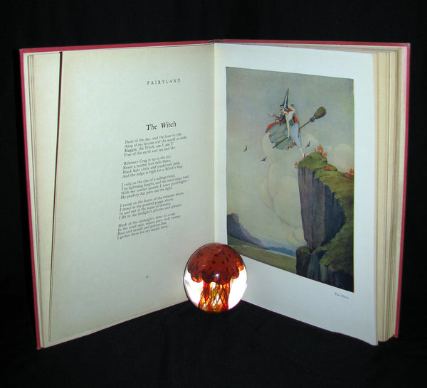 1929 Rare color illustrated Book ~ FAIRYLAND by Ida Renthoul Outhwaite First Edition