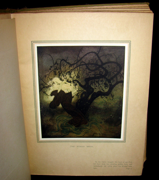 1916 Rare Book - EDMUND DULAC'S FAIRY BOOK  - Fairy Tales of the Allied Nations