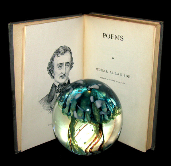 1895 Rare Book - The Raven and other Poems by Edgar Allan POE (Altemus Edition)