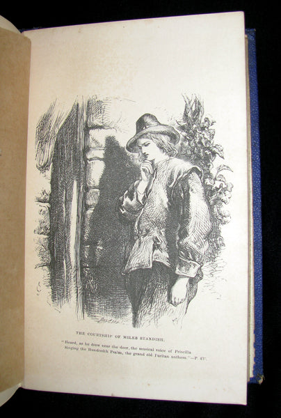 1864 Rare Book -  The Poetical Works of Henry Wadsworth Longfellow. Complete Edition, with Illustrations by John Gilbert. Etc.