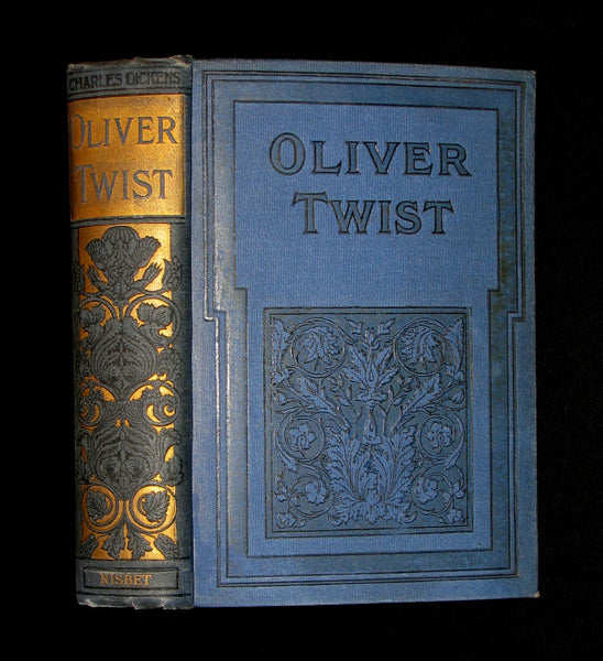 1900's Rare Nisbet Victorian Edition -  OLIVER TWIST by Charles Dickens