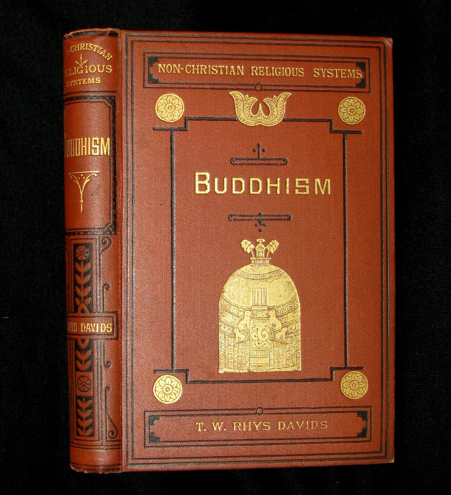 1886 Rare Book - Buddhism; Being a Sketch of the Life and Teachings of Gautama, the Buddha