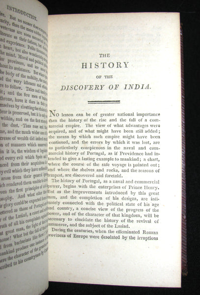 1809 Rare Book - The LUSIAD or, the Discovery of India - an Epic Poem Translated from Camoens.