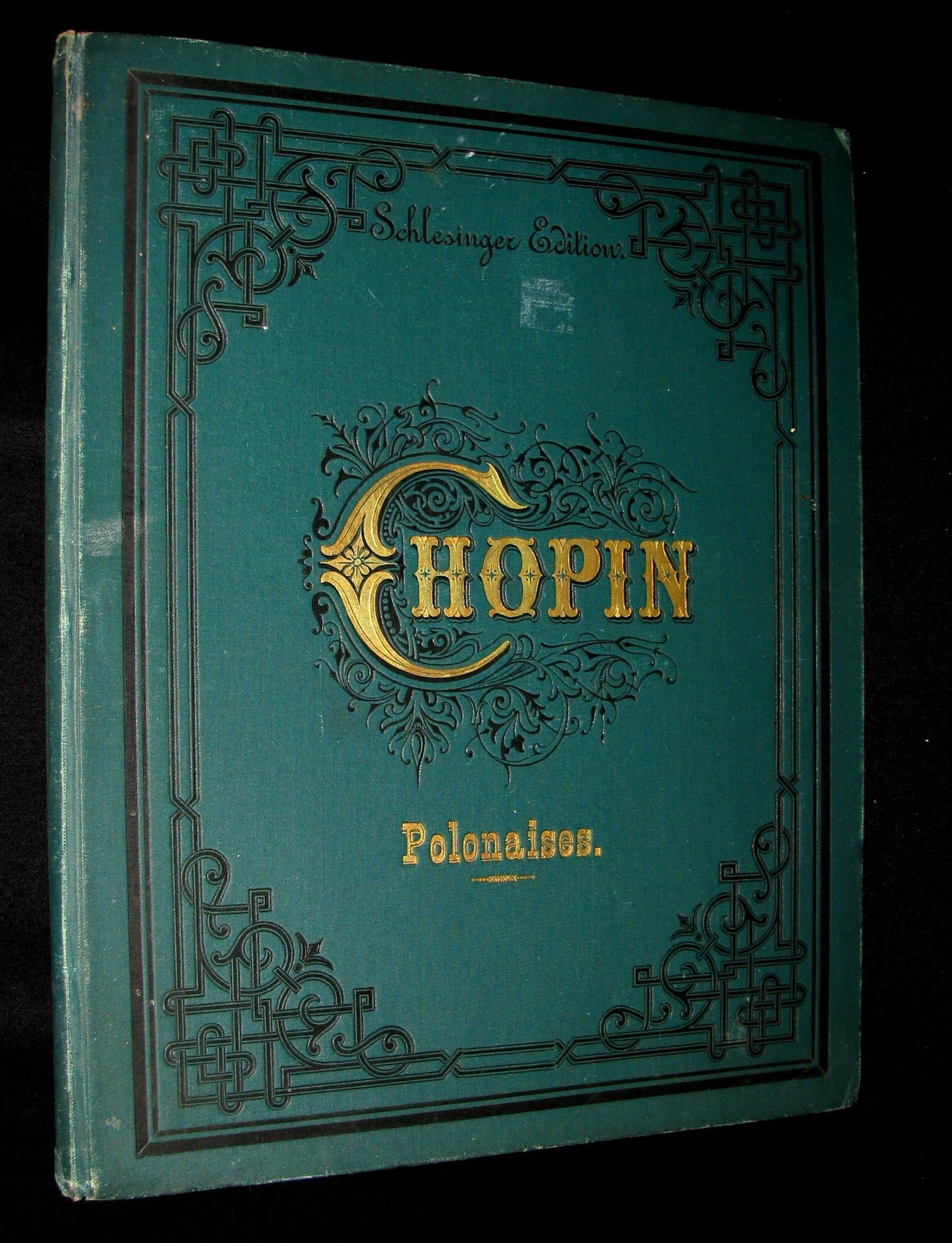 1880's Very Rare Victorian edition of Frederick CHOPIN 's POLONAISES for Pianoforte - Music scores