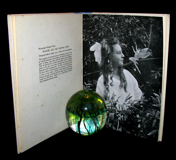 1945 Rare First Edition Book -  FAIRIES - The Cottingley Photographs And Their Sequel.