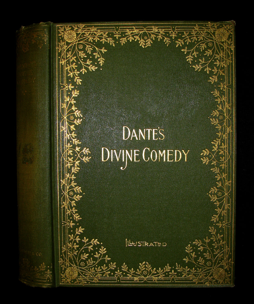 Old Book Cover Zone ~ Divine comedy book cover pixshark images
