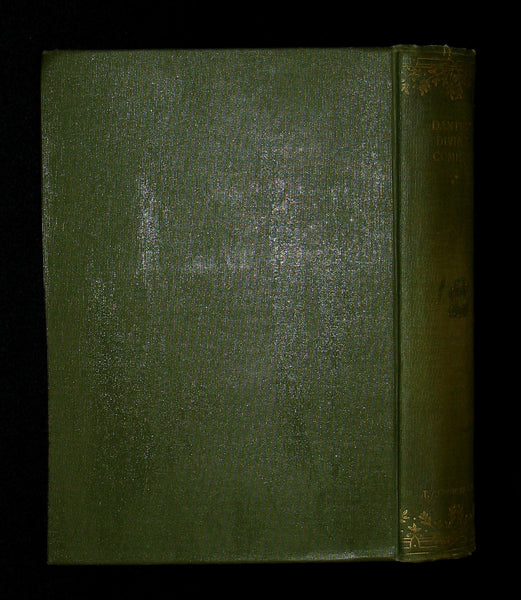 1897 Rare Victorian Book - THE DIVINE COMEDY OF DANTE ALIGHIERI: Together with Dante Gabriel Rossetti's Translation of The New Life