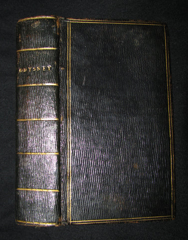 1805 Rare Book - The Odyssey of Homer. Translated by A. Pope, Esq.