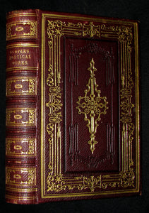 1850 Rare Book -  The Complete Poetical Works of William Cowper, illustrated.