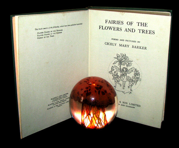 1950 - Cicely Mary Barker - FAIRIES OF THE FLOWERS AND TREES - 1st Edition