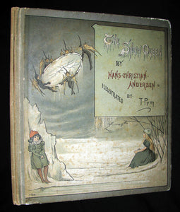 1885 Scarce Victorian Book -  The Snow Queen by Hans Christian Andersen illustrated by T. Pym (pseudonym for Clara Creed)
