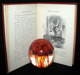 1887 Rare Victorian Book - Through the Looking Glass, and What Alice Found There by Lewis Carroll