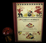 1933 First American Edition - Goblin Market by Christina Rossetti, illustrated by Arthur Rackham