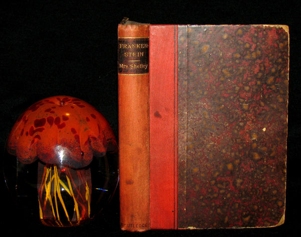 1888 Very Rare Book - FRANKENSTEIN  or, The Modern Prometheus by Mary Shelley