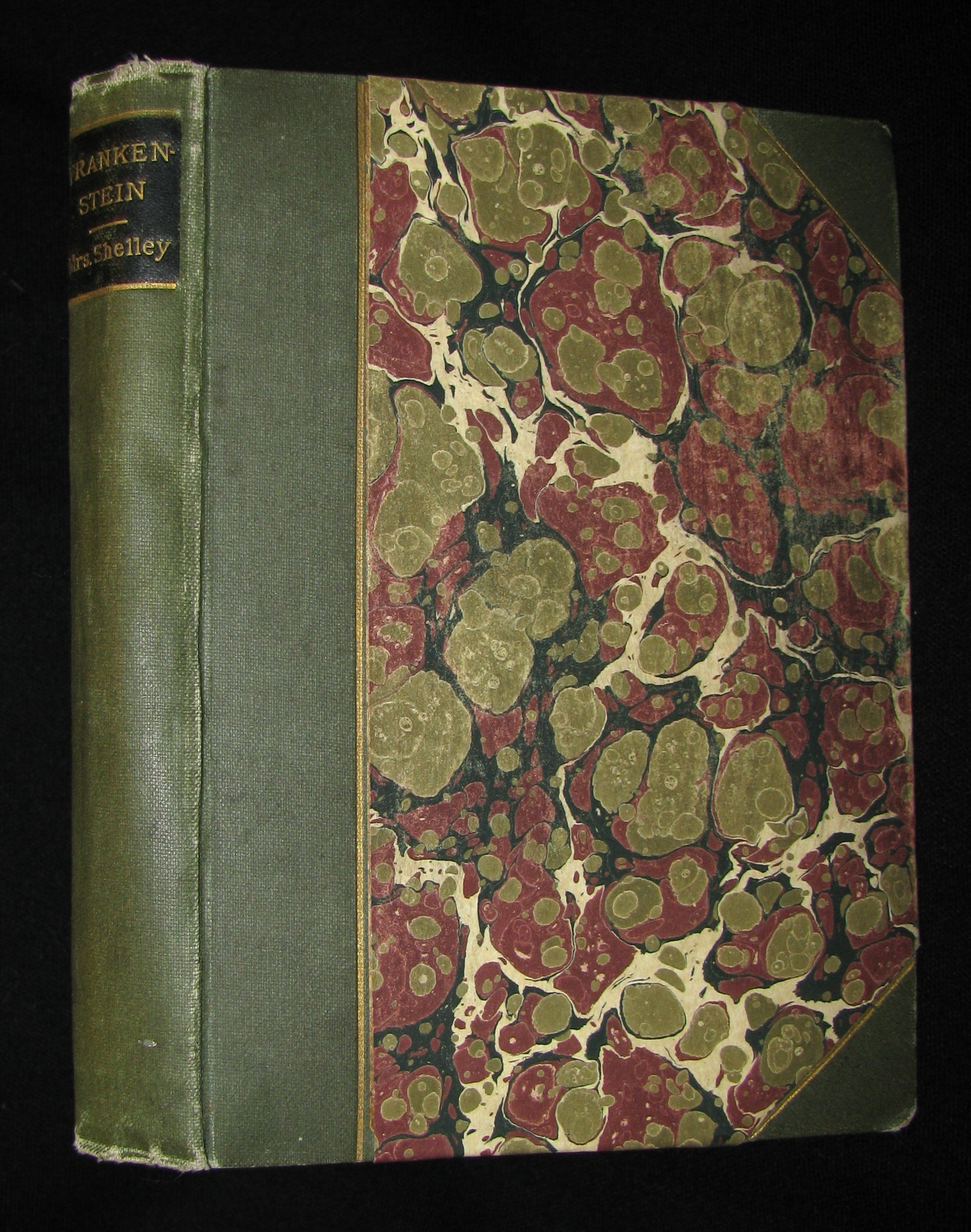 1888 Rare Gothic Book - FRANKENSTEIN  or, The Modern Prometheus by Mary Shelley