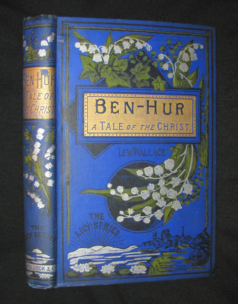 1885 Rare Victorian Book -  Ben-Hur : A Tale of the Christ by Lew Wallace