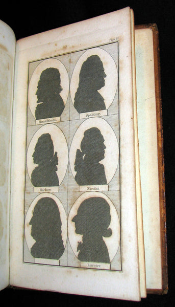 1827 Rare Book ~ Physiognomy, Or,The Mind by LAVATER