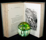 1910 Rare Illustrated Book - Dropped from the Clouds being the first part of The Mysterious Island by Jules Verne