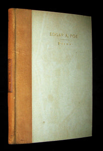 1901 Rare Book -The Roycrofters Edition of the Poems by Edgar Allan POE