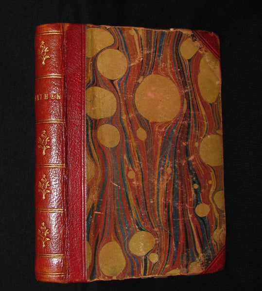 1850 Rare Gothic Book - Vathek (an Arabian Tale) by William Thomas Beckford