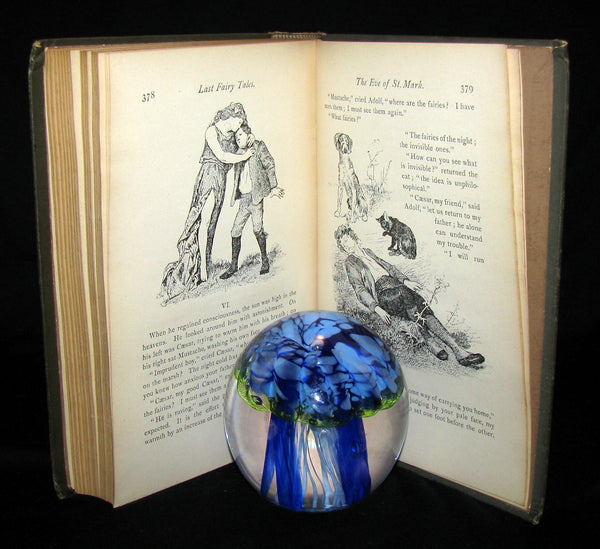 1885 Rare Book - Laboulaye's LAST FAIRY TALES - illustrated FIRST EDITION
