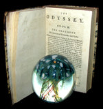 1776 Very Rare Book - The Odyssey of Homer translated in English by Alexander Pope, Esq.