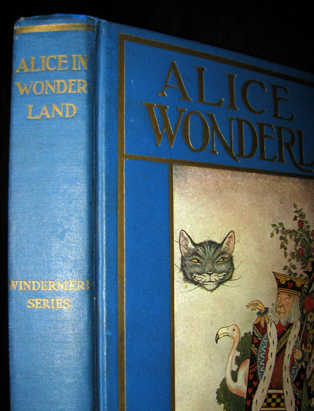 1916 Rare Windermere Edition - Alice's Adventures in Wonderland & Through the Looking-Glass