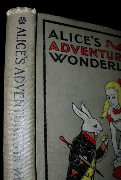 1900's Rare Conkey Edition - Alice's Adventures in Wonderland by Lewis Carroll