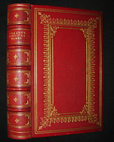 1863 Rare Book - The Poetical Works of George Crabbe.