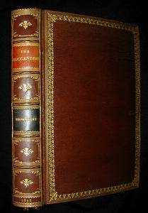 1851 Rare Book - The Buccaneers or The Monarchs of the Main in a exquisite (Riviere) Bayntun binding