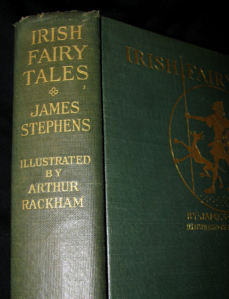 1920 First American Edition - Irish fairy Tales by James Stephens illustrated by Arthur Rackham