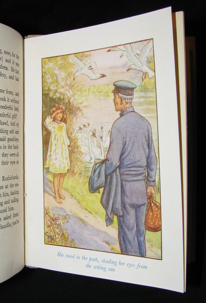 1940's Rare Book - Cicely Mary Barker - The Lord of the Rushie River. First Edition.