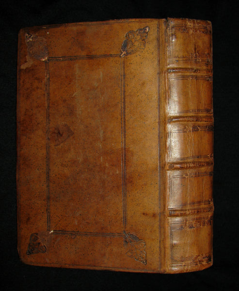 1676 Scarce Book - Jeremy TAYLOR - THE RULE AND EXERCISES OF HOLY LIVING & HOLY DYING.