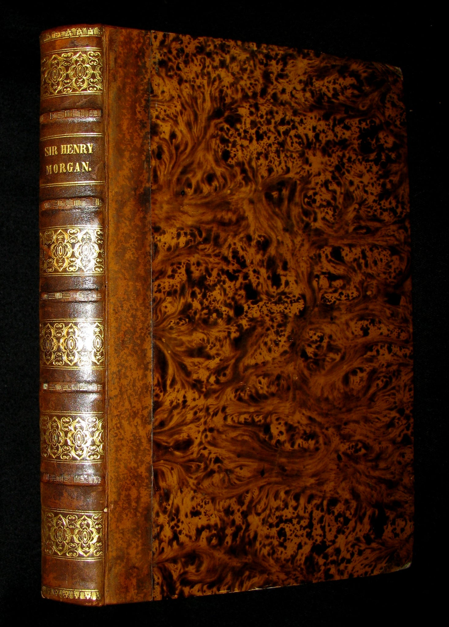 1842 Scarce Book - Sir Henry Morgan, the Buccaneer by Edward Howard. First Edition.
