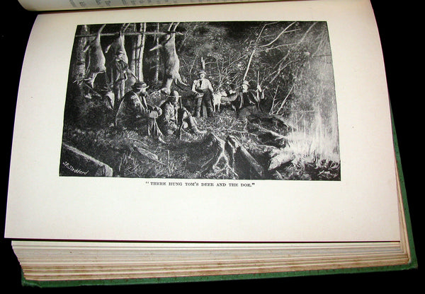 1890 Rare 1stED Book ~ An Adirondack Cabin: :A Family Story by Margaret Sidney