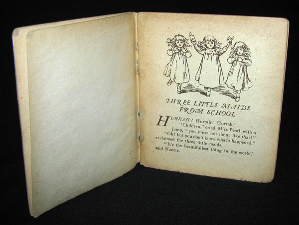 1900's Scarce Victorian Set of Six Ernest Nister Miniature Books For Children