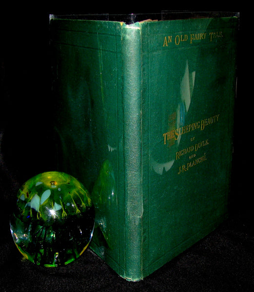 1868 Scarce Victorian Book - An Old Fairy Tale The Sleeping Beauty with illustrations by R. Doyle
