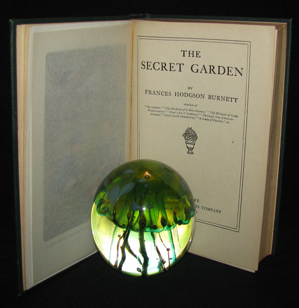 1911 Rare First Edition Book - The Secret Garden by Frances Hodgson Burnett.