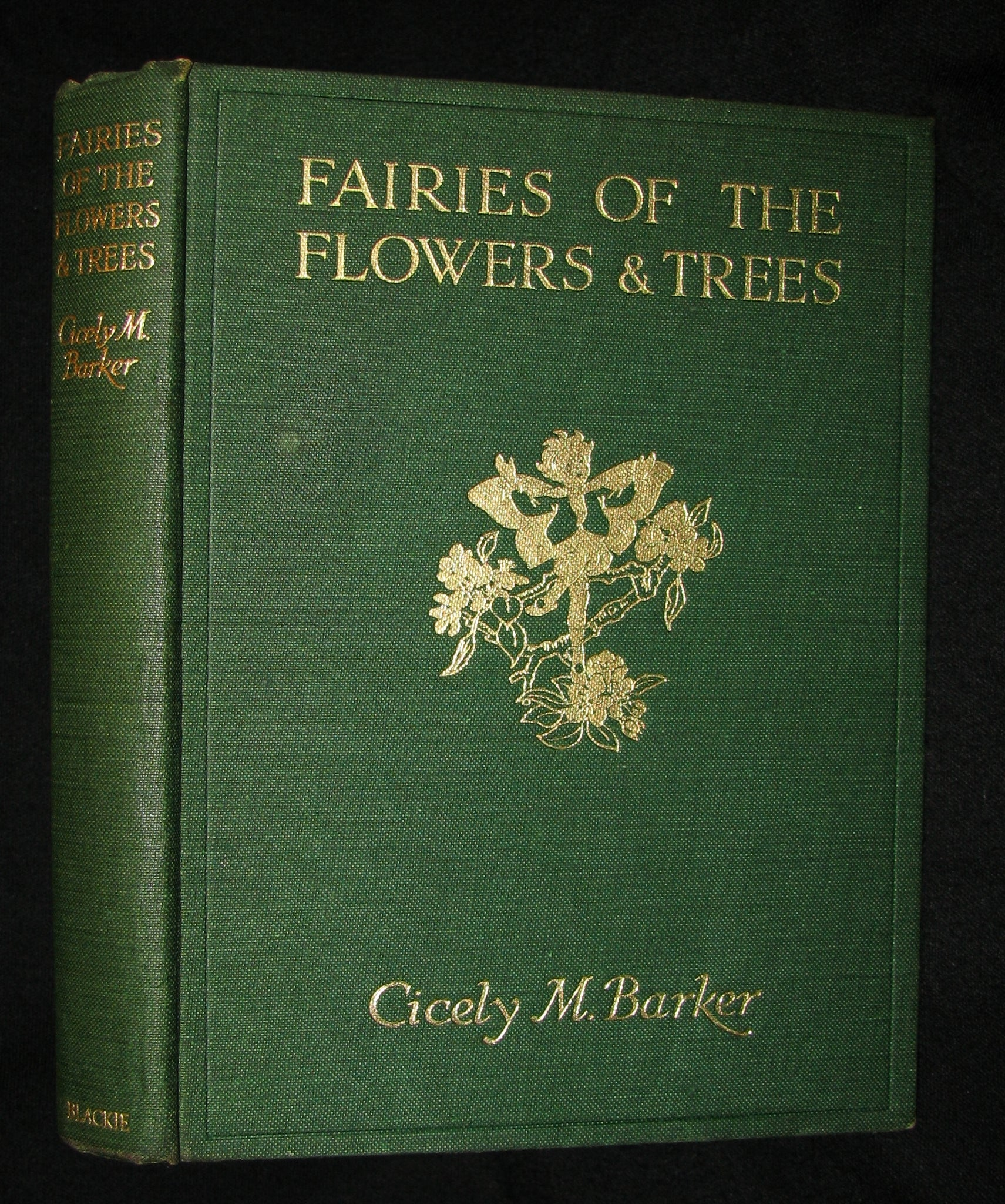1950 - Cicely Mary Barker - FAIRIES OF THE FLOWERS AND TREES - 1stED