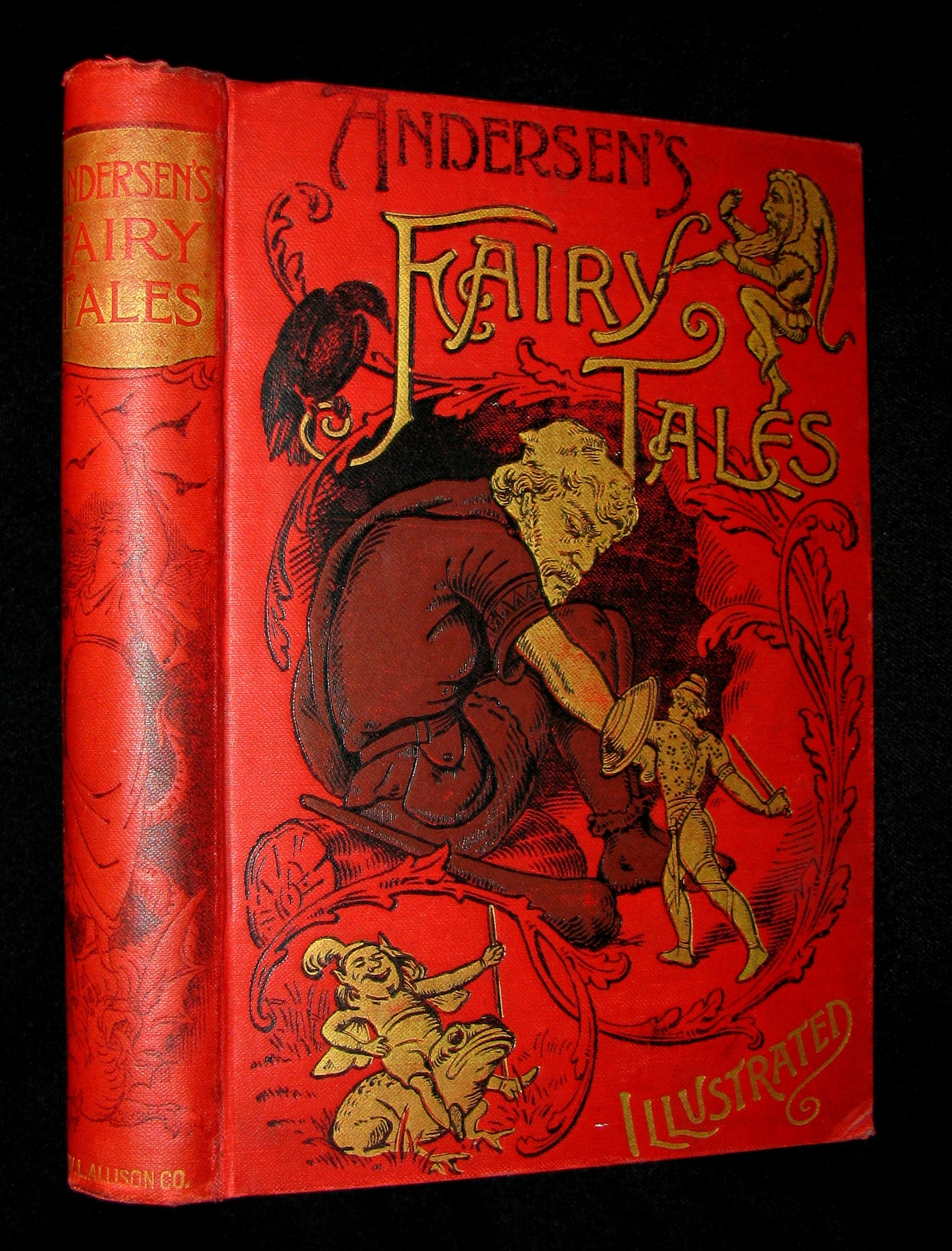 1890's Rare Victorian Book -  Hans Christian Andersen's FAIRY TALES illustrated. Scarce edition.