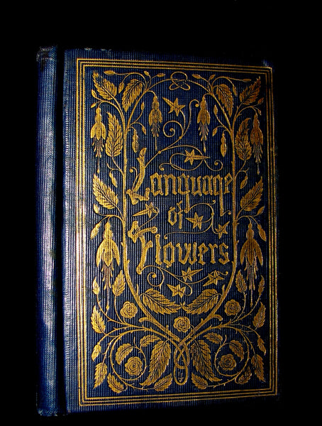 1860 Scarce Floriography Book ~ The Emblematic Language Of Flowers.