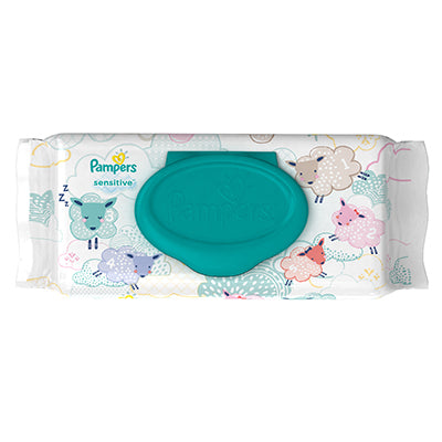 Pampers Sensitive Baby Wipes (72pcs) - mumspring