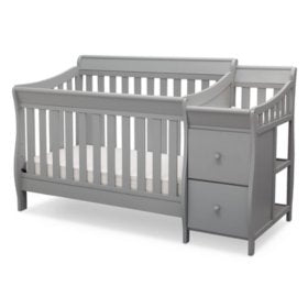 Bentley 'S' Series 4-in-1 Convertible Crib and Changer by Delta Children (PreOrder)