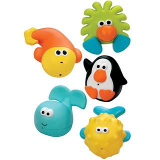Sassy, Bathtime Pals Squirt and Float Toys - mumspring