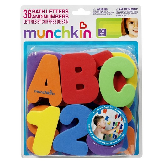 Munchkin, Bath Letters & Numbers
